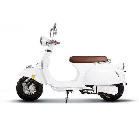 Wit Etalian Elektrische scooter